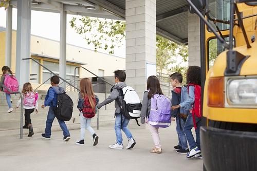 Transport en bus scolaire